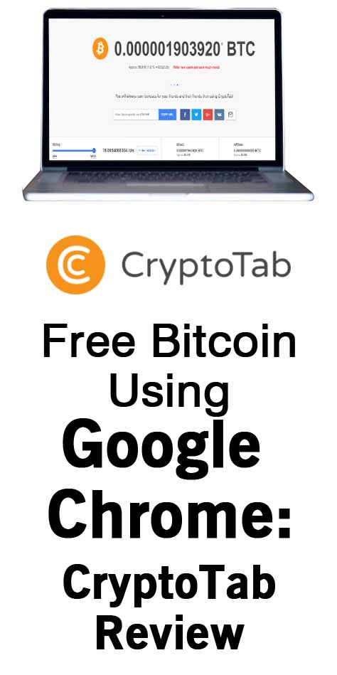 Free Bitcoin Using Google Chrome: CryptoTab Review - Blogging With