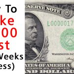 How To Make $2000 Fast (In 2 Weeks Or Less)