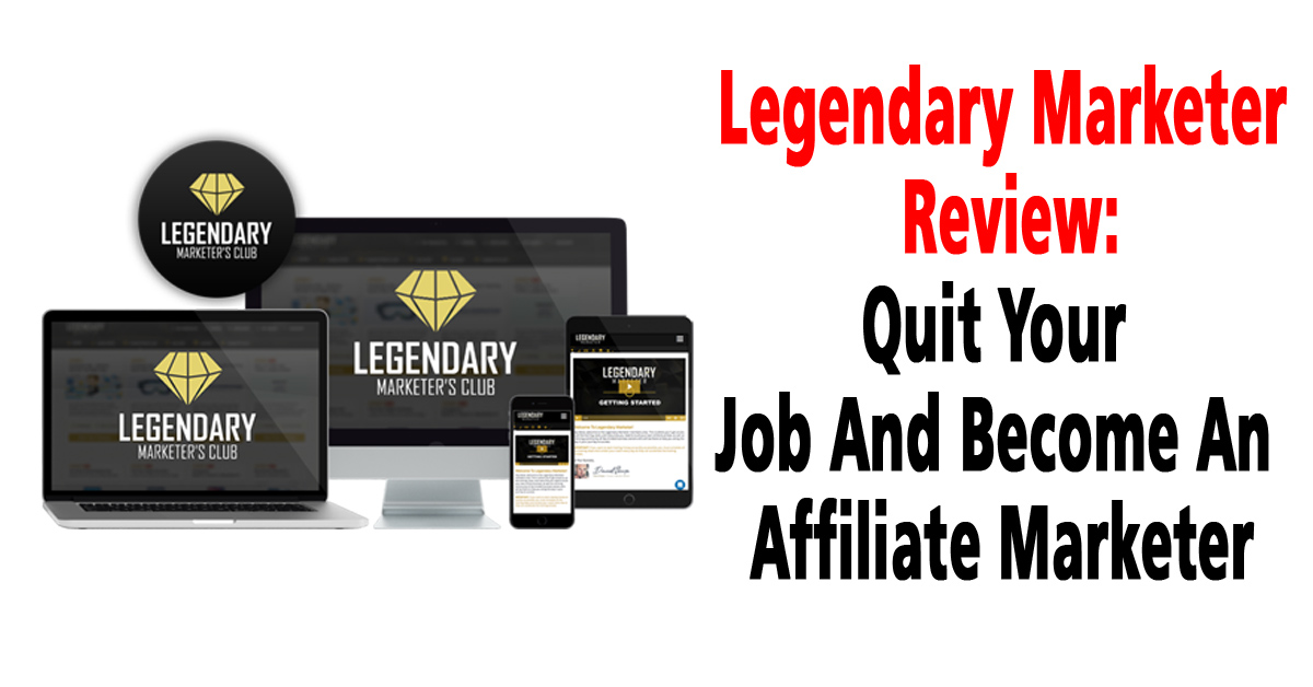 Legendary Marketer Free Account