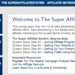 Super Affiliate System Review: Will The Super Affiliate System Program Help You Start and Grow Your Online Business