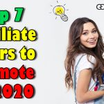 Top 7 Affiliate Offers to Promote in 2020