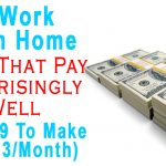16 Work From Home Jobs That Pay Surprisingly Well (I Do #1 To Make $8,333/Month)
