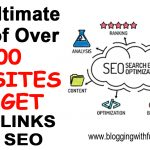 The Ultimate List of Websites To Get Backlinks For SEO
